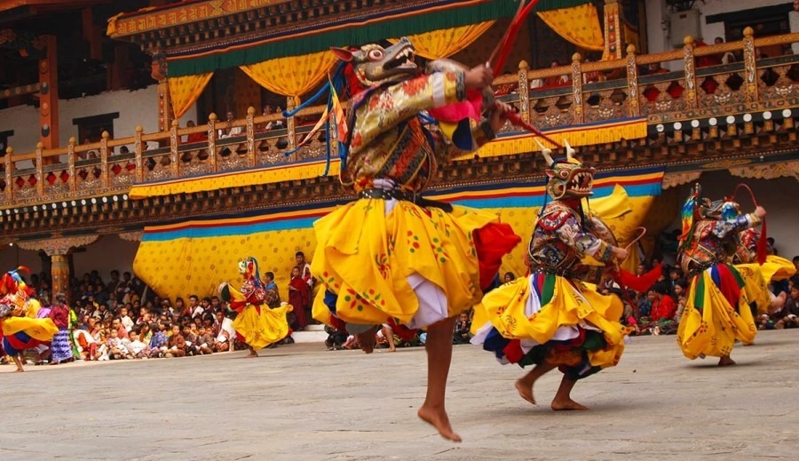 Punakha Festival <br> (25 – 27 February, 2018)
